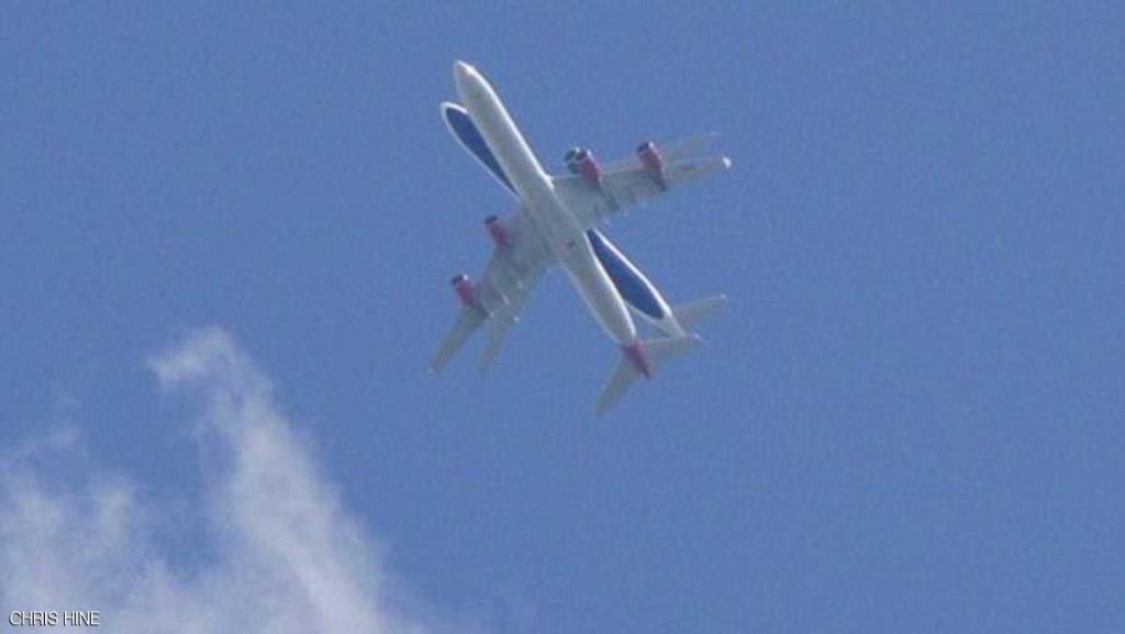 قصة صورة تحبس الأنفاس فوق مطار هيثرو