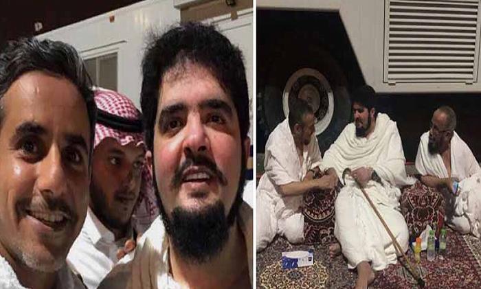 """الأمير """"عبدالعزيز بن فهد"""" يؤدي مناسك الحج هذا العام"""