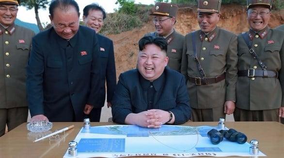 """وكالة """"يونهاب"""" الكورية : الأنشطة التفقدية للزعيم الكوري الشمالي للأسلحة النووية والصواريخ تشهد زيادة حادة"""