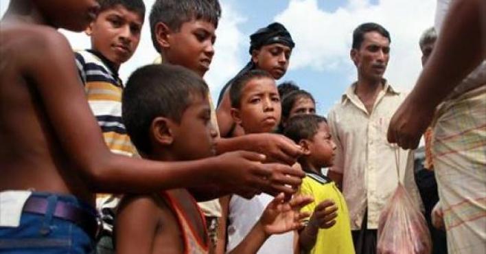 (اليونيسف) تعلن إنشاء مراكز لتعليم أطفال الروهينجا اللاجئين