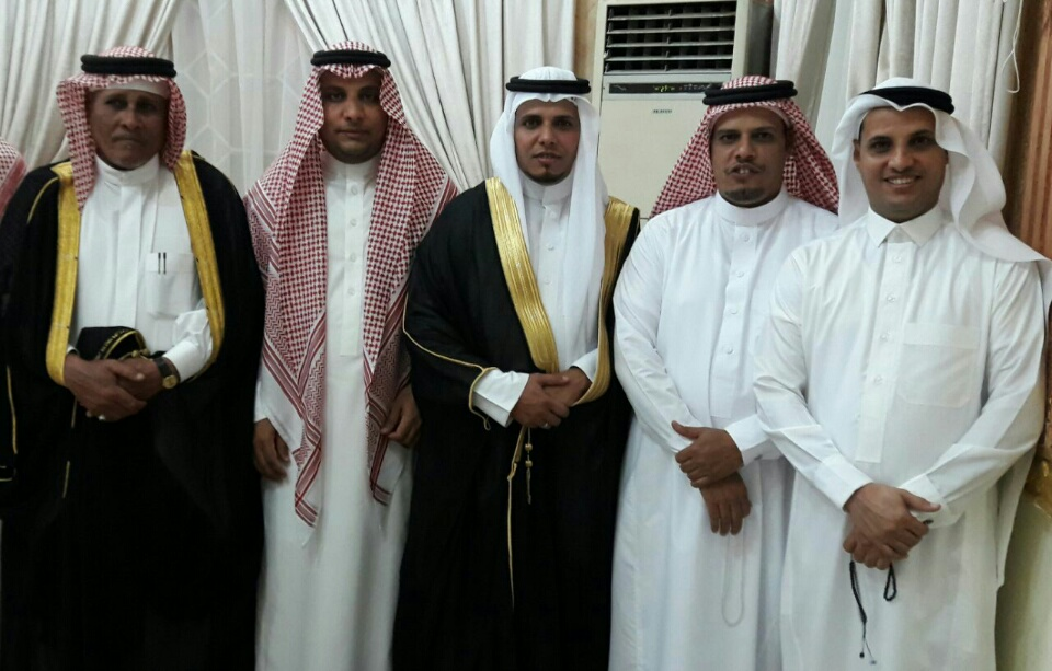 مصرد التهامي يحتفل بزواج نجله بدر