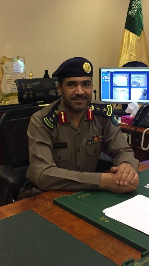 مدير إدارة الدفاع المدني بمحافظة الخرج يبارك للقيادة بمناسبة ذكرى اليوم الوطني