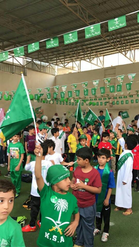 مدرسة عبدالملك بن مروان تحتفي بيوم الوطن
