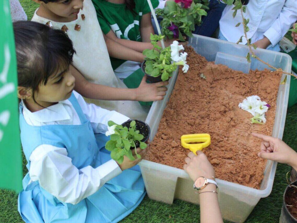 مديرية زراعة الخرج تقيم ورشة عمل عن الزراعة موجهة ومخصصة لأجيال المستقبل