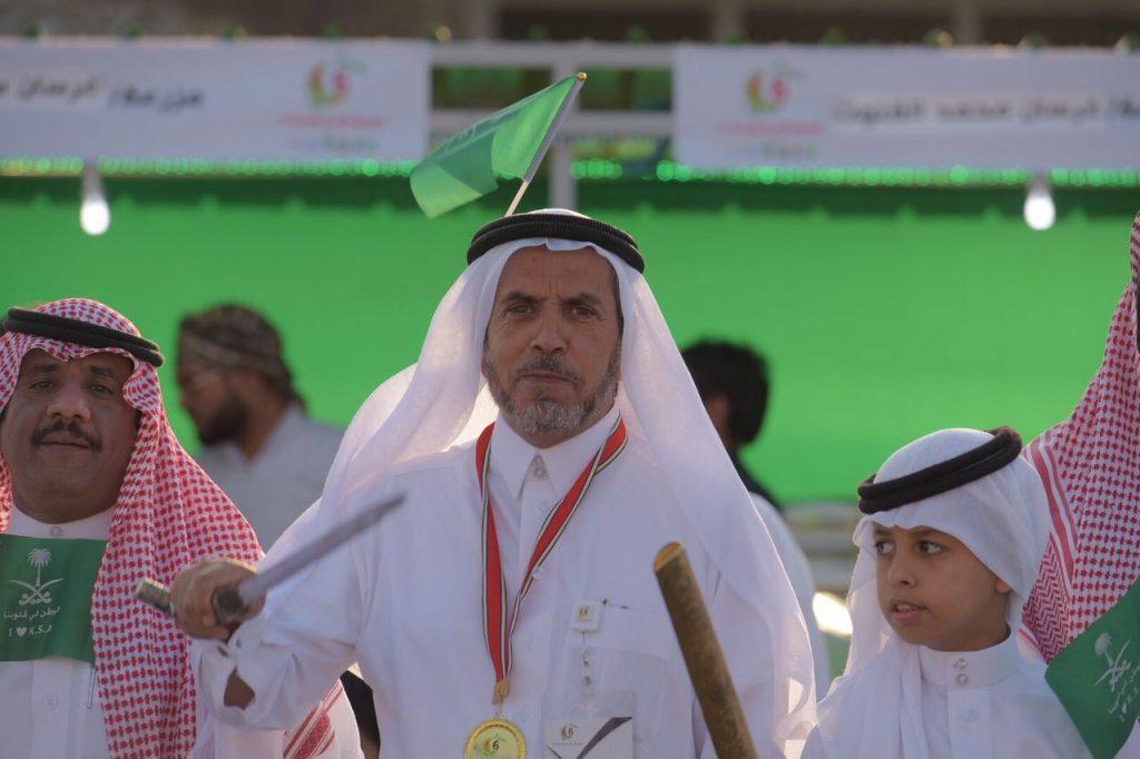 رجل الاعمال الشيخ حسن بن قواش المالكي : اليوم الوطني عزيز على قلوبنا جميعا