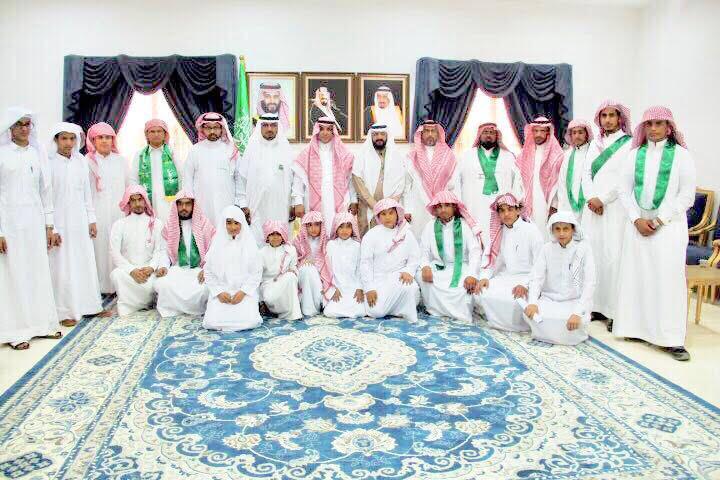وكيل محافظة بلجرشي يستقبل قادة وطلاب الميدان التربوي