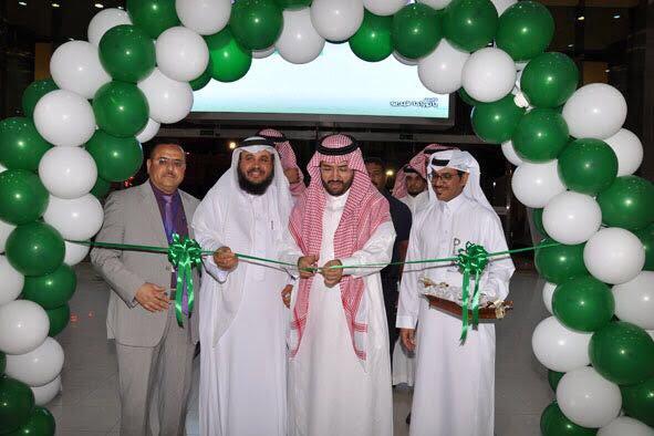 الدكتور الغامدي يفتتح المعرض التاريخي لصحة تبوك