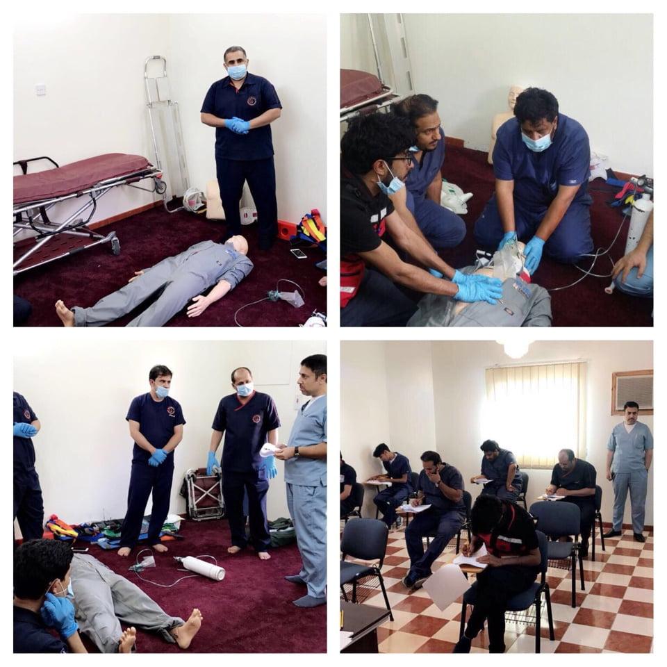 اختتام الدورة الثانية لبرنامج الخدمات الطبية الطارئة في الباحة