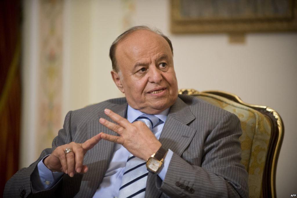 الرئيس اليمني : مشروعنا كامل الوضوح تمثله مخرجات الحوار الوطني الشامل التي توافق عليها اليمنيون