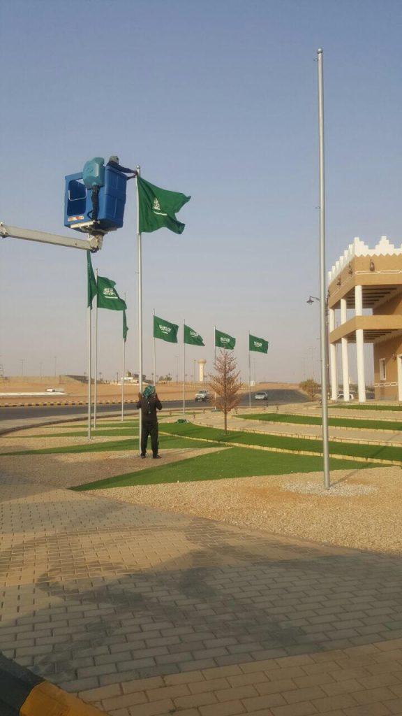بلدية تربة تستقبل اليوم الوطني بإحتفالية للأهالي