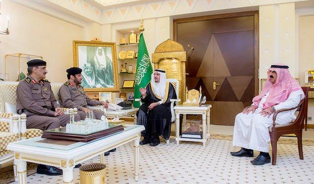 أمير القصيم يستقبل اللواء الغفيلي بعد تعيينة مديراً لسجون المنطقة