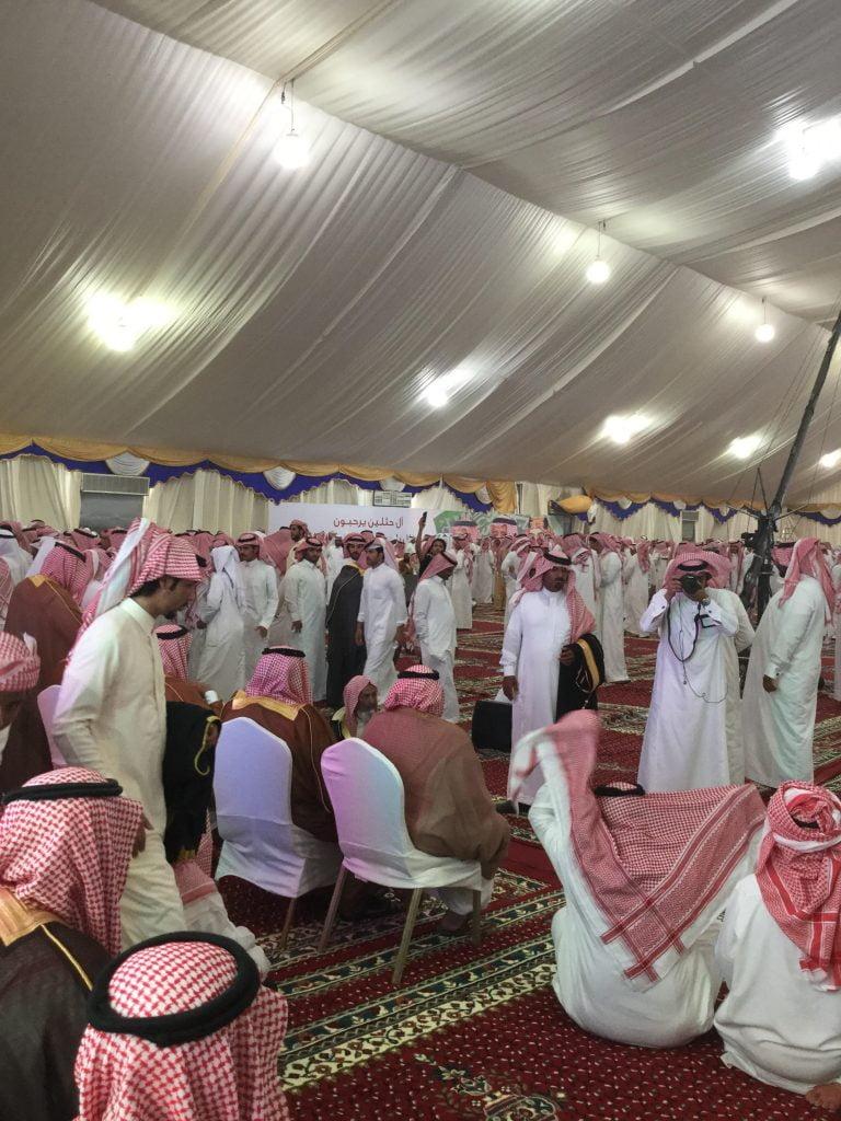 """توافد الآلاف لحفل قبيلتي """"العجمان"""" و """"يام"""" لمناصرة الشيخ طالب بن شريم و ال مرة في """"نطاع"""""""
