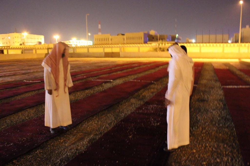مدير عام فرع وزارة الشؤون الإسلامية والدعوة والإرشاد يقوم بجولة تفقدية على مصليات الأعياد بالجوف