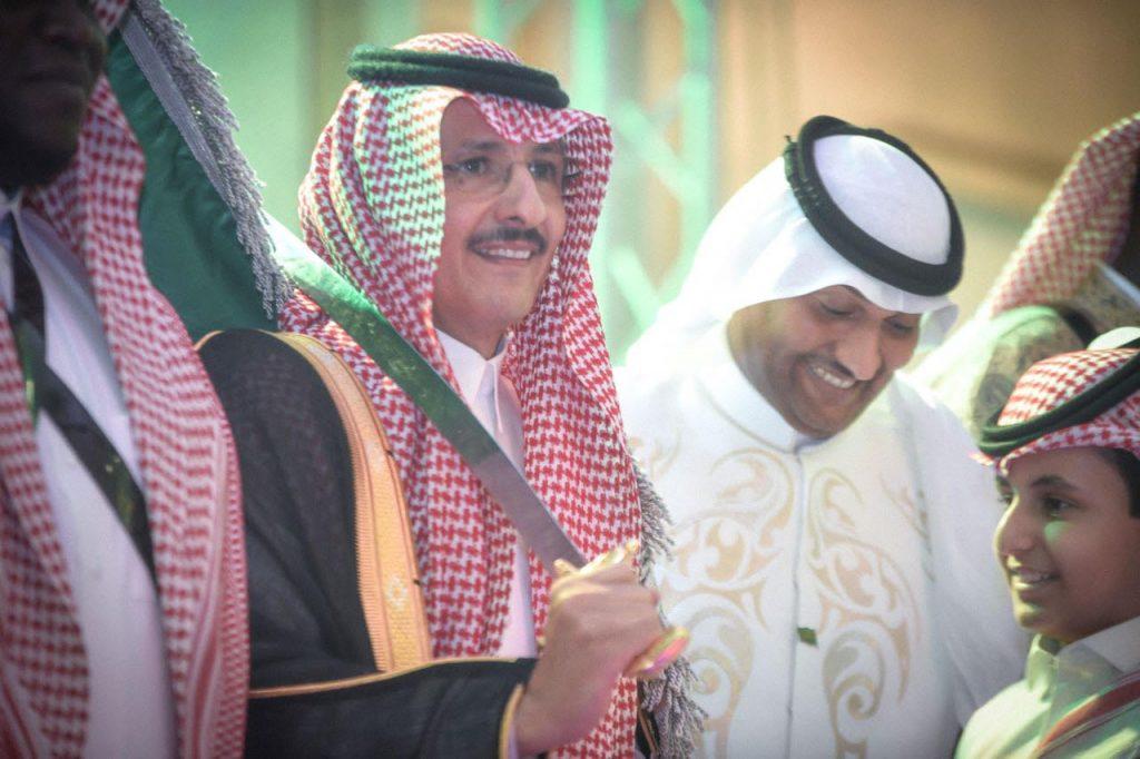"""بالصور .. أهالي أبو عريش يحتفلون باليوم الوطني""""87″"""