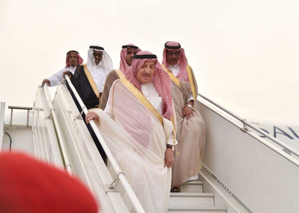 أمير جازان يصل إلى المنطقة بعد تمتعه بإجازته السنوية