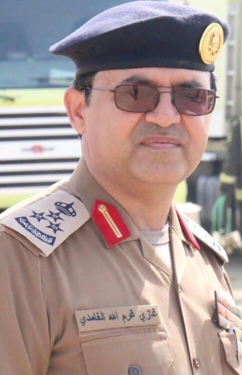 كلمة مدير الدفاع المدني بمنطقة نجران العميد غازي غرم الله الغامدي