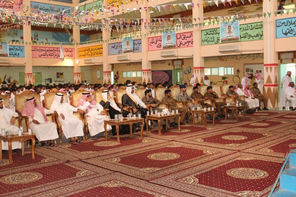 وكيل محافظة البرك يرعى حفل اليوم الوطني 87