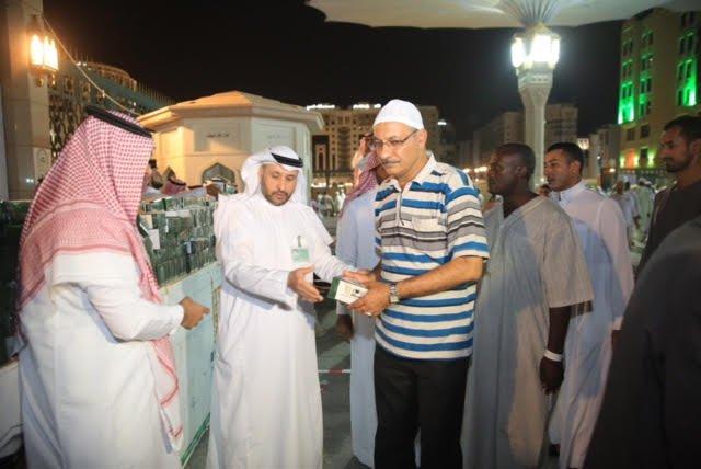 وكالة المسجد النبوي تقوم بزيادة عدد الوجبات والاهداءات المقدمة للحجاج