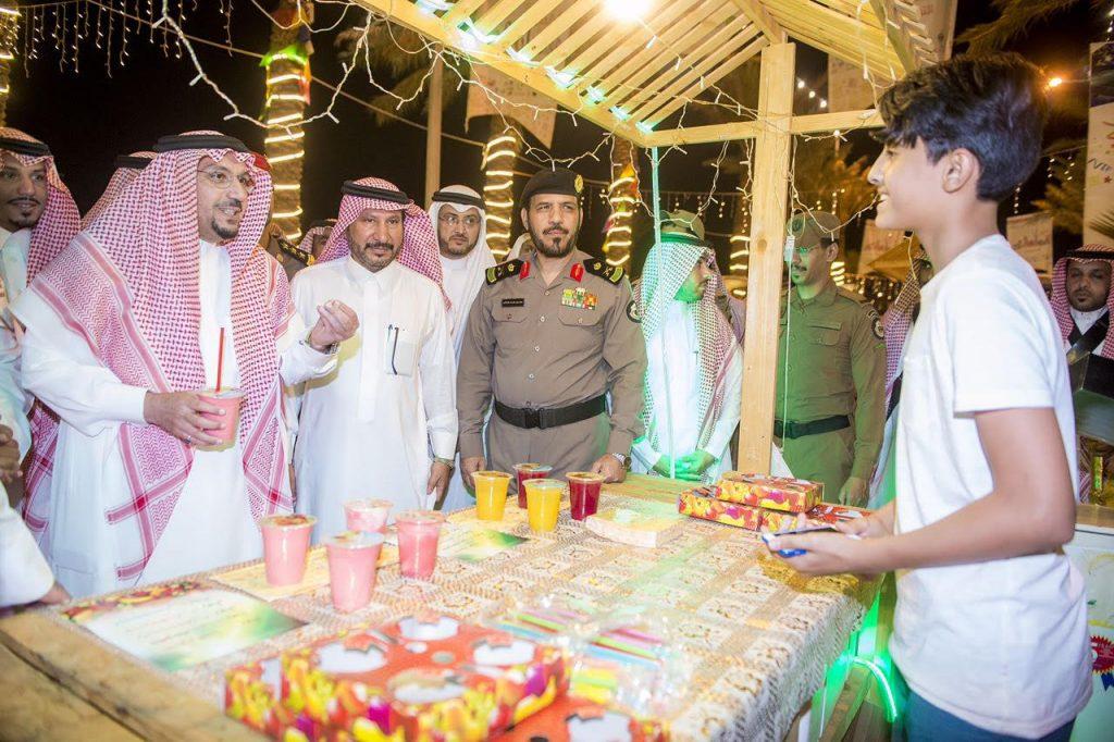 أمير القصيم يشهد ختام مهرجان البصر ويكرم الرعاة والداعمين
