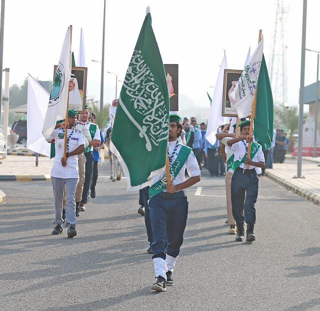 المعهد الصناعي بمكة يحتفل باليوم الوطني ويستقبل 90 طالب مستجد