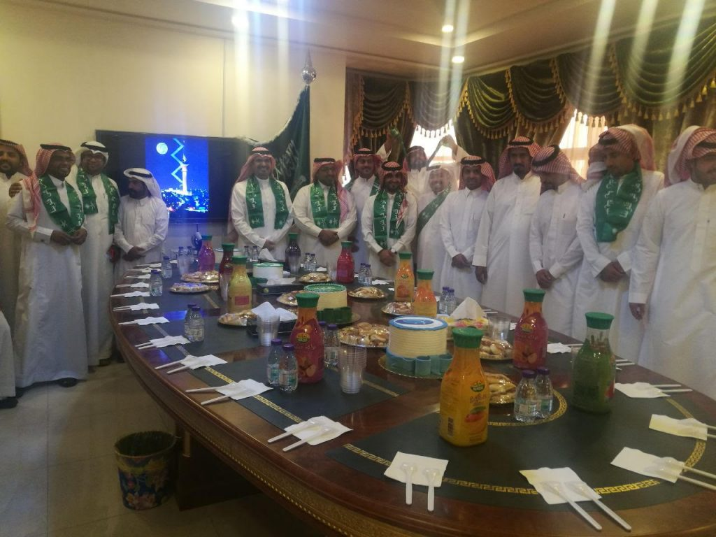 مدينة الملك فيصل الطبية بالمناطق الجنوبية تحتفل باليوم الوطني 87
