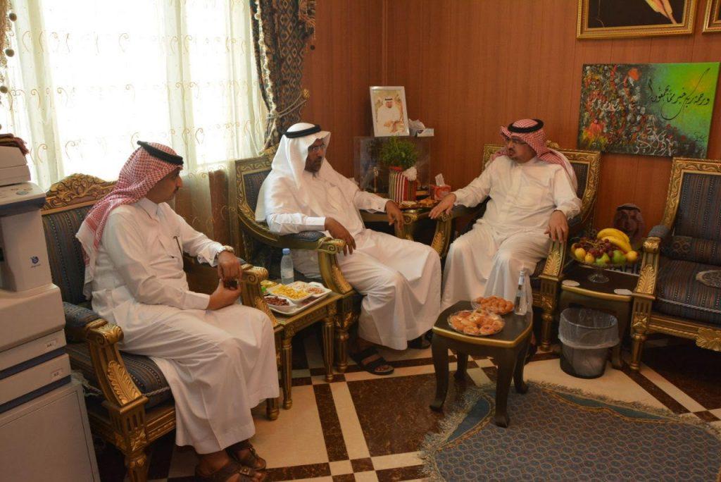 محافظ محايل يستقبل المشرف العام على جامعة الملك خالد بتهامة