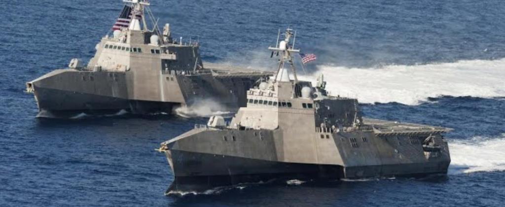 مناورات بحرية أمريكية كورية جنوبية كبيرة الأسبوع المقبل