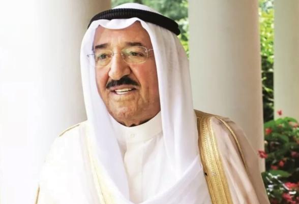 أمير الكويت يدين الحادث الإرهابي الذي وقع في العاصمة البحرينية المنامة