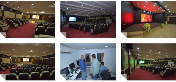 أبو عجرم تطلق أكبر شاشة عرض للأفلام بالشمال