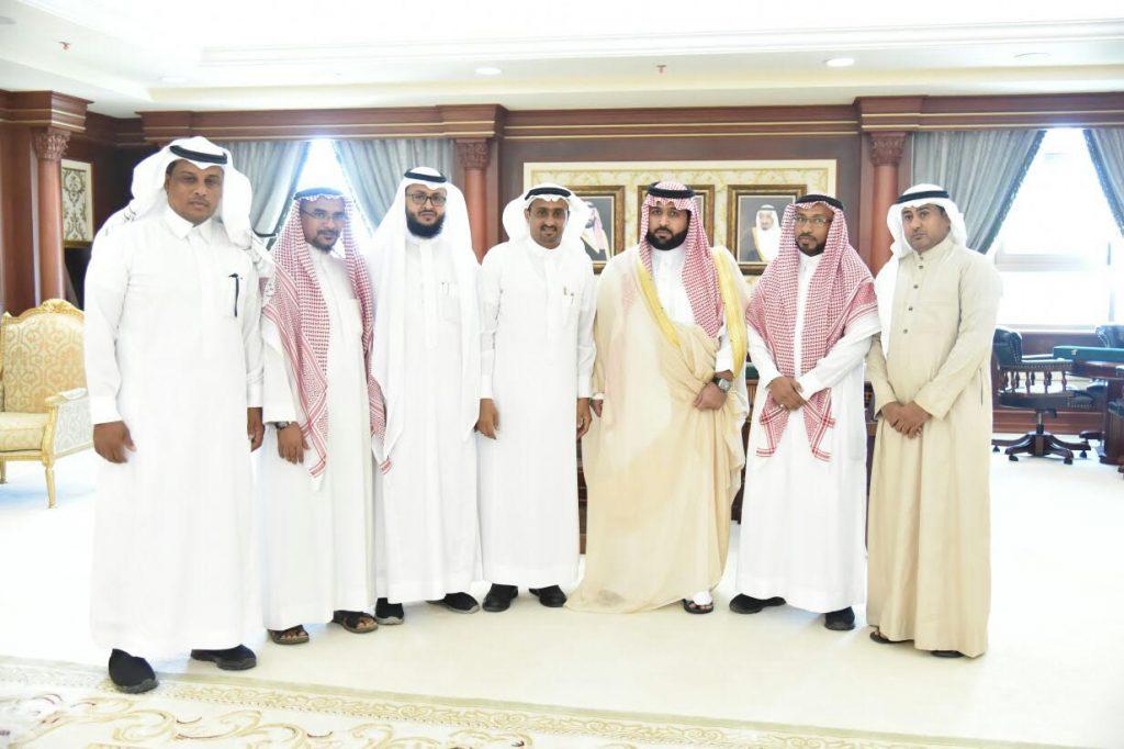 نائب أمير منطقة جازان يستقبل أعضاء المجلس البلدي بمركز قوز الجعافرة