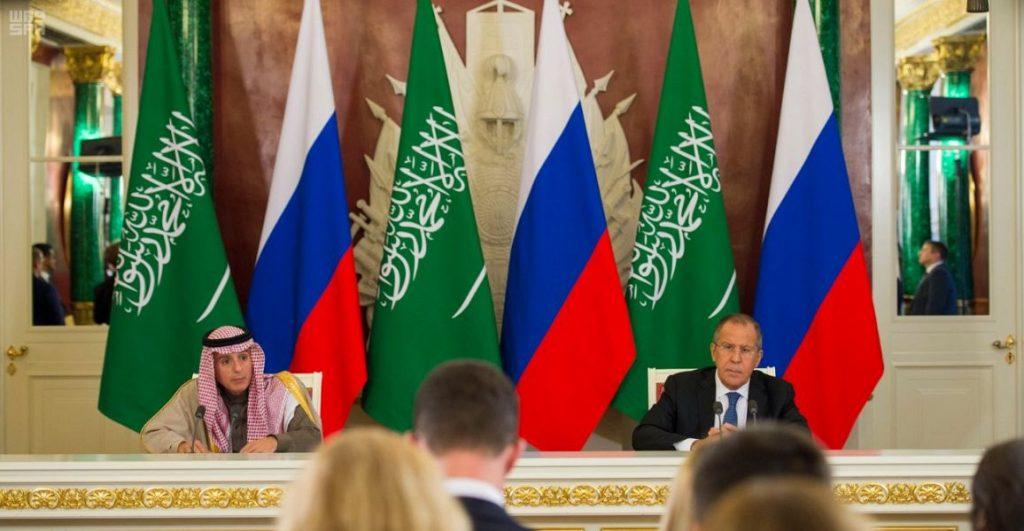 وزير الخارجية : العلاقات السعودية الروسية ستسهم في استقرار في المنطقة والعالم
