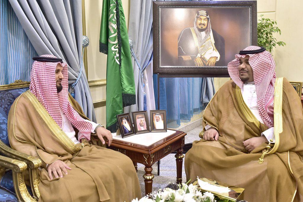 نائب أمير منطقة نجران يلتقي عضو مجلس الشورى ال فهاد