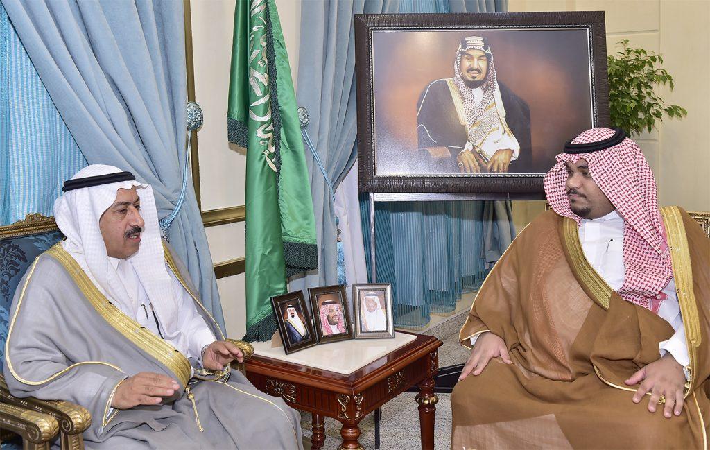 نائب أمير نجران يتسلم تقرير انجازات مشاريع أمانة المنطقة