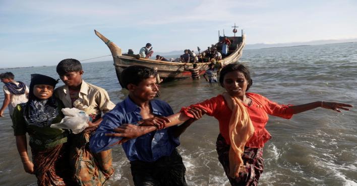 (الدولية للهجرة): ألفا لاجئ من الروهينجا يصلون يوميًا إلى بنغلاديش