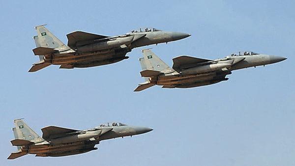 التحالف يدمر تعزيزات للميليشيا الانقلابية غرب محافظة الجوف اليمنية