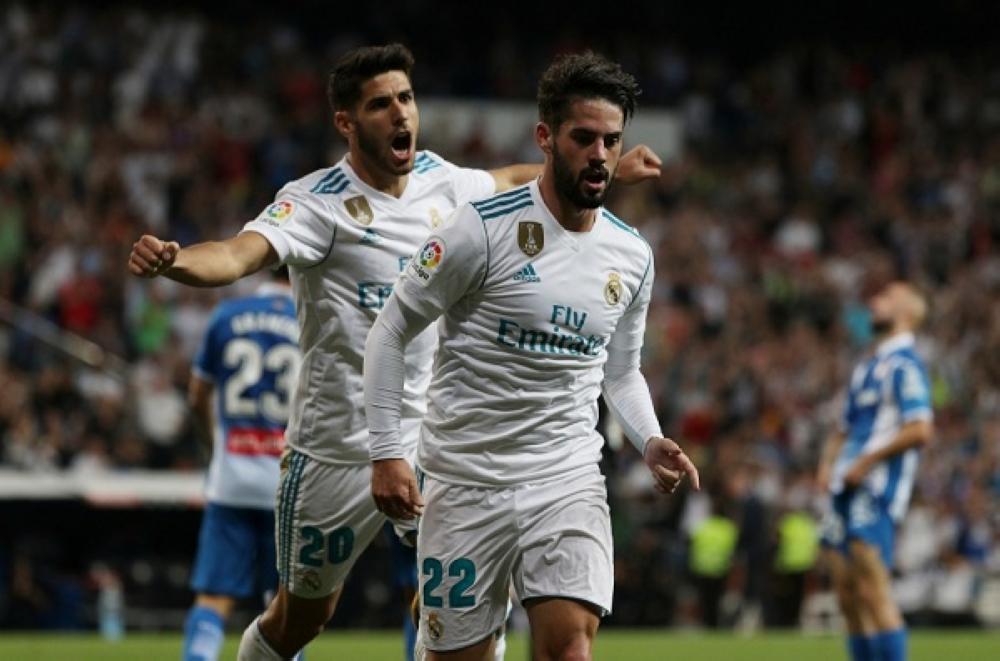 ريال مدريد يواصل الانتصار.. صعق إسبانيول بهدفين