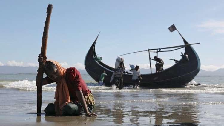 """تركيا تبحث مع بنغلادش تخصيص جزيرة للاجئي """"الروهينغا"""""""