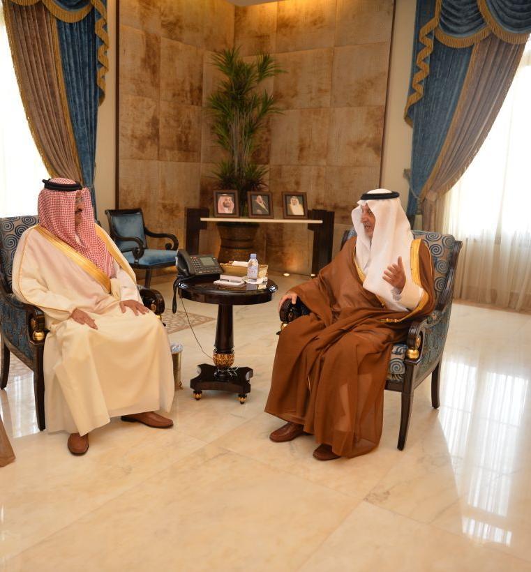 أمير مكة ونائبه يلتقيان سفير البحرين لدى الرياض