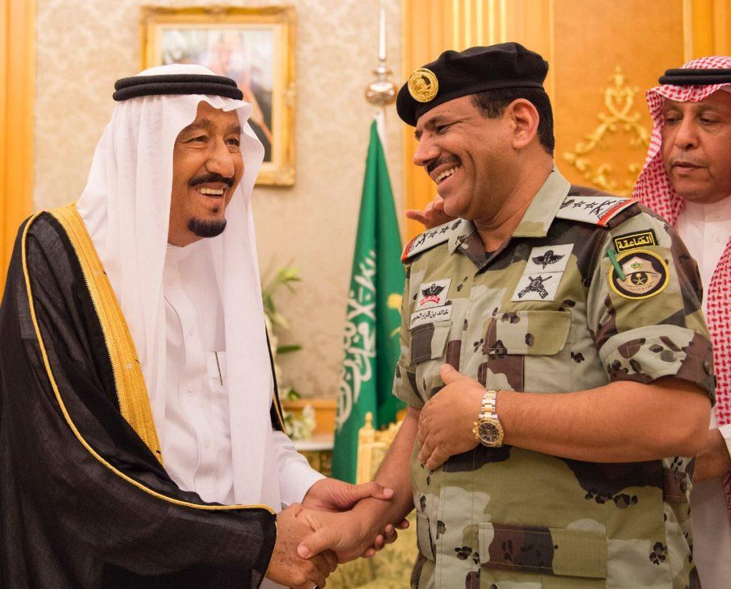 بعد تقليده رتبته الجديدة ..قائد قوات الطوارئ الخاصة يرفع شكره لخادم الحرمين