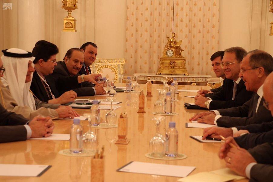 الجبير يعقد جلسة مباحثات مع وزير الخارجية الروسي