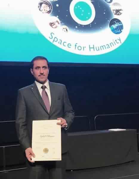 باحث سعودي متخصص يحقق نجاحاً وطنياً على مستوى العالم في مجال الفضاء