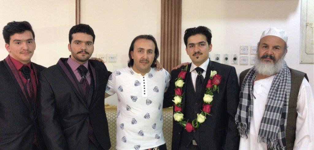 حمزة يحتفل بزفافه بالرياض