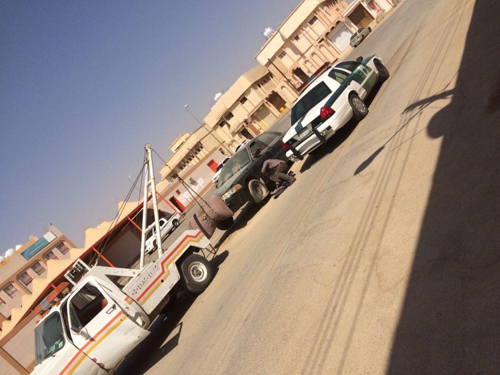 مرور محافظة الدلم يتجاوب مع شكوى مواطن