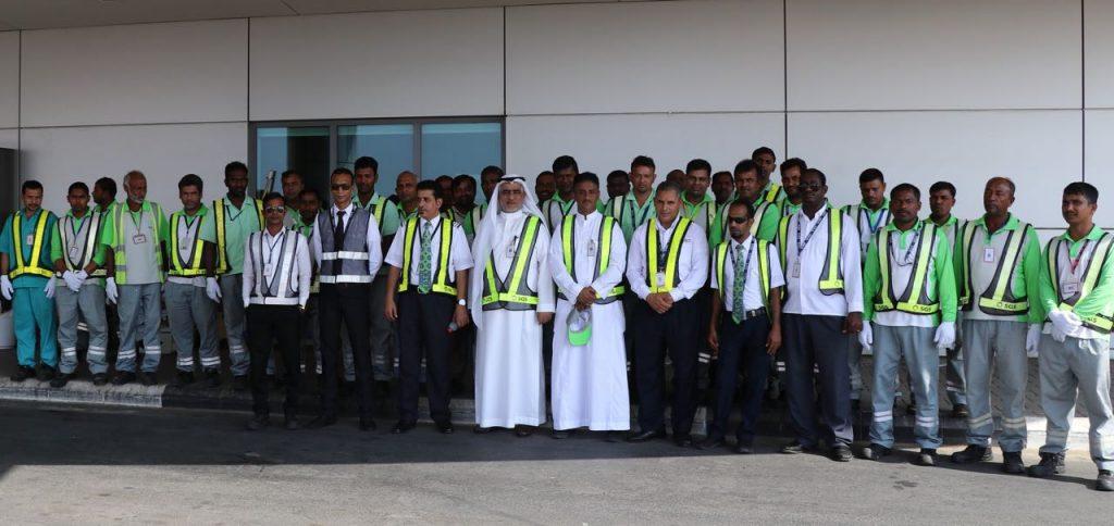 الشركة السعودية للخدمات الأرضية وإلتزامها ببرامج الأمن والسلامة