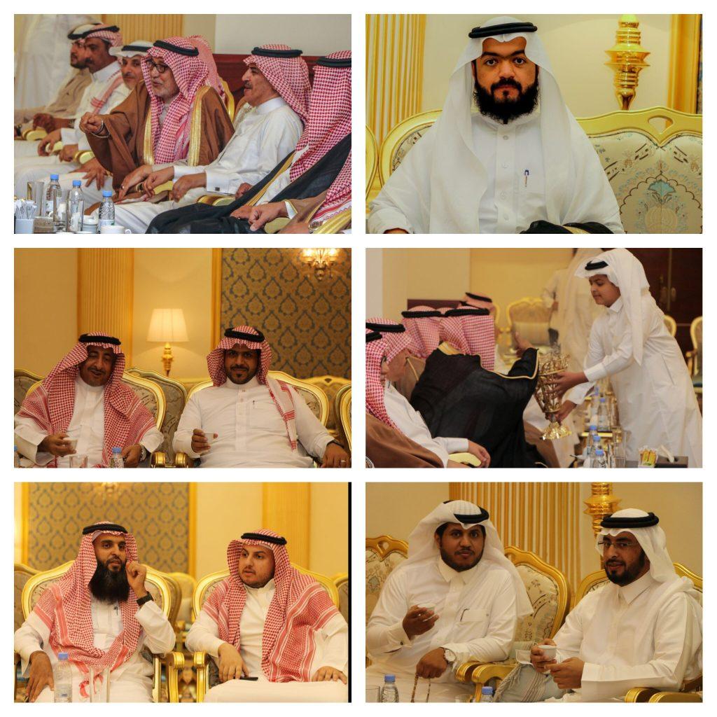 """"""" الخاطر """" يحتفل بعقد قران كريمته ببلجرشي في الباحة"""