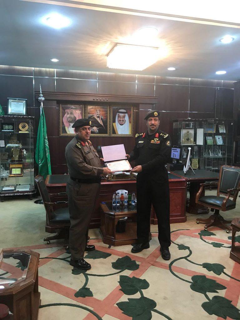 مدير شرطة الجوف يشكر العقيد سعود الدويش