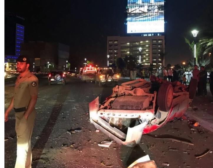 وفاة شخصين وإصابة «3» إثر حادث انقلاب بشمال جدة