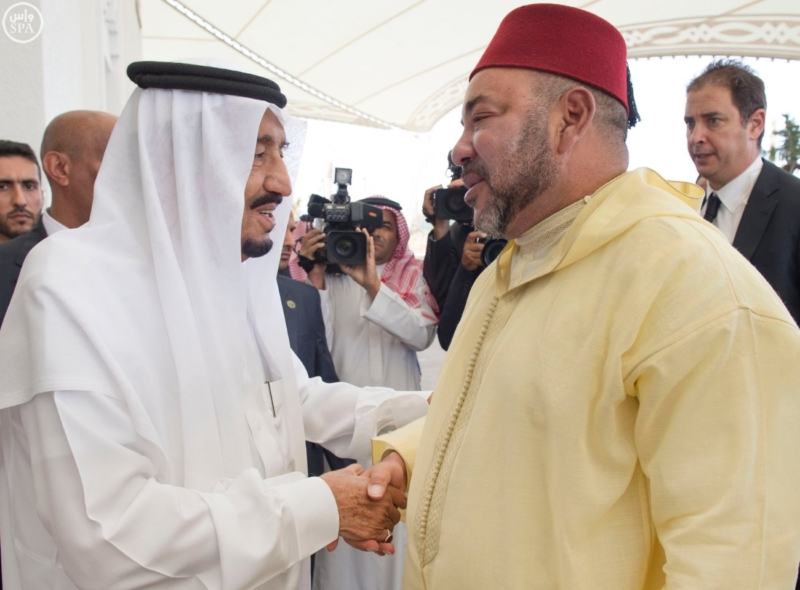 ملك المغرب يدين في برقية لخادم الحرمين الشريفين إطلاق صاروخ بالستي على الرياض