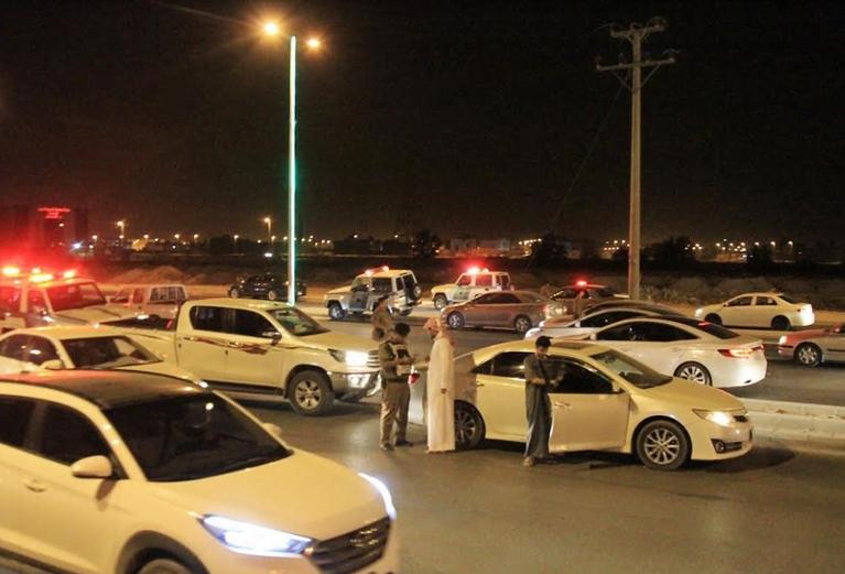 مرور محافظة الخرج يقوم بحملة مرورية