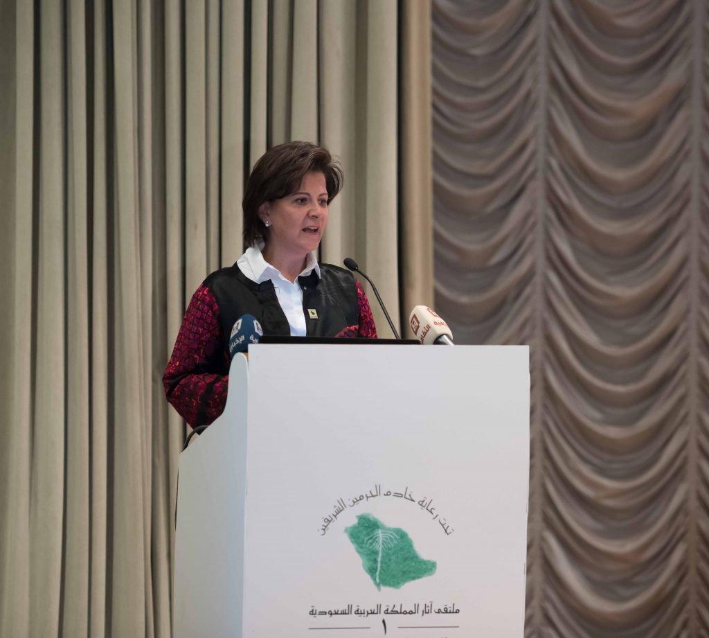 وزيرة الآثار الأردنية: انبهرت مما رأيته في المتاحف السعودية من تطور متحفي وقطع نادرة
